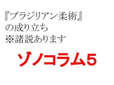 ゾノコラム5